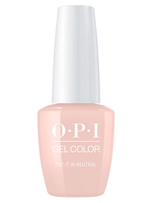OPI GelColor nail polish bottle Put It In Neutral