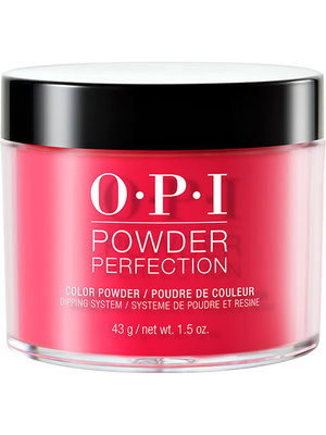 OPI Powder Perfection dipping powder in She's a Bad Muffuleta!
