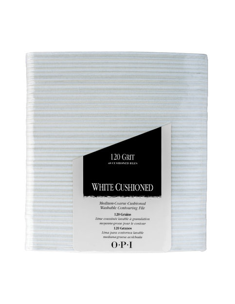 White Cushioned File - Files - OPI