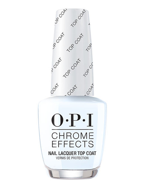Chrome Effect Nail Lacquer Top Coat