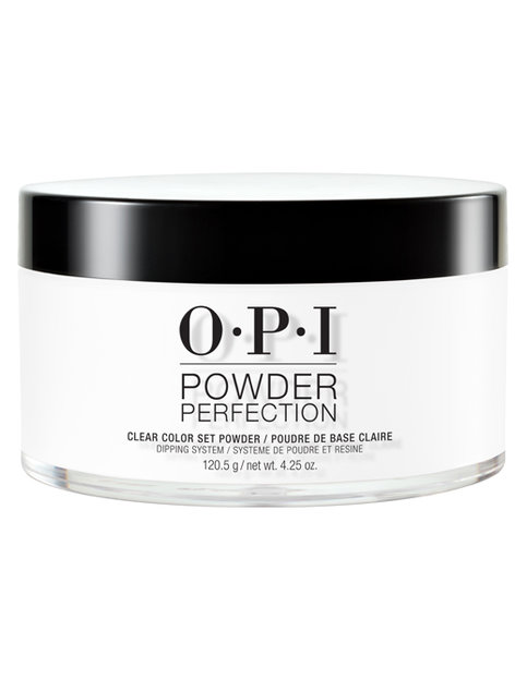 Clear Color Set Powder Powder Perfection Opi