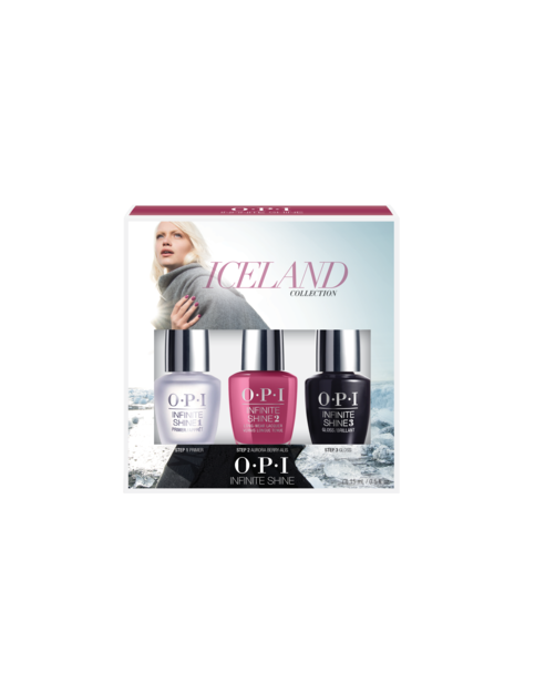 OPI Iceland Collection Infinite Shine nail lacquer trio pack #1