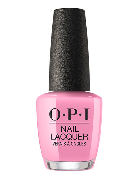 OPI Nail Lacquer bottle I Think in Pink