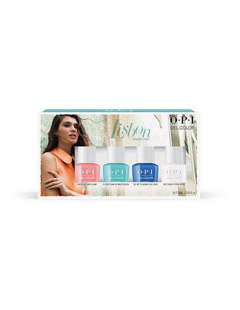 LISBON 7.5ML GEL COLOR 4 PACK - Gift Sets - OPI