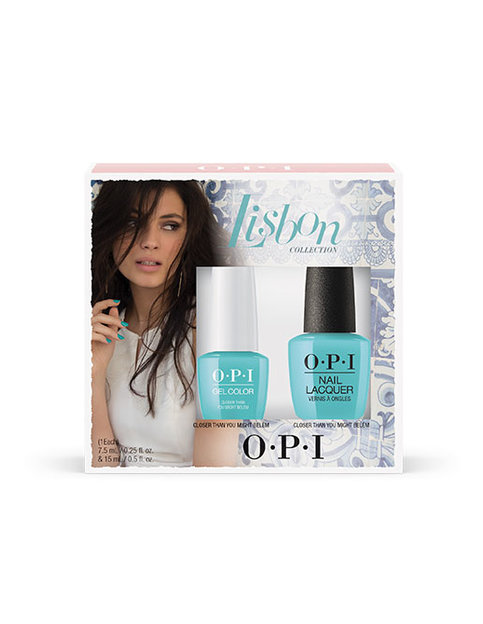 LISBON 7.5 GEL COLOR & NAIL LACQUER DUO #1 - Gift Sets - OPI