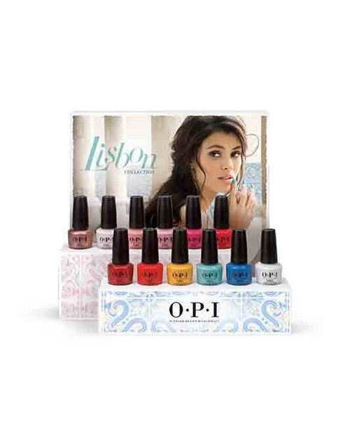LISBON EDITION-A NAIL LACQUER DISPLAY - Collection Displays - OPI
