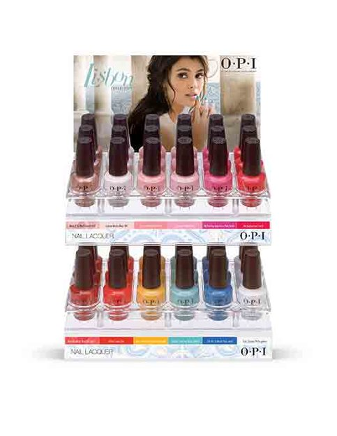 Lisbon Edition C Nail Lacquer Display Collection Displays Opi