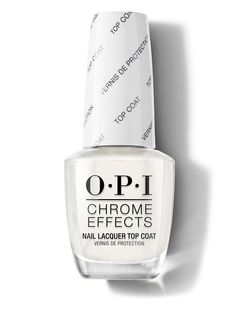 OPI Chrome Effects Nail Lacquer Top Coat
