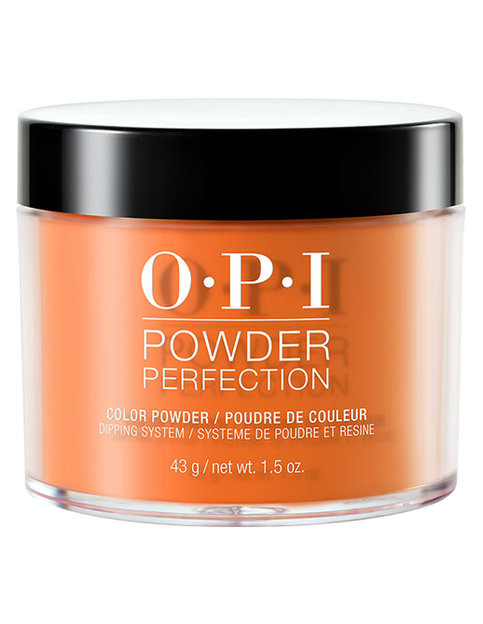 Freedom Of Peach Powder Perfection Opi