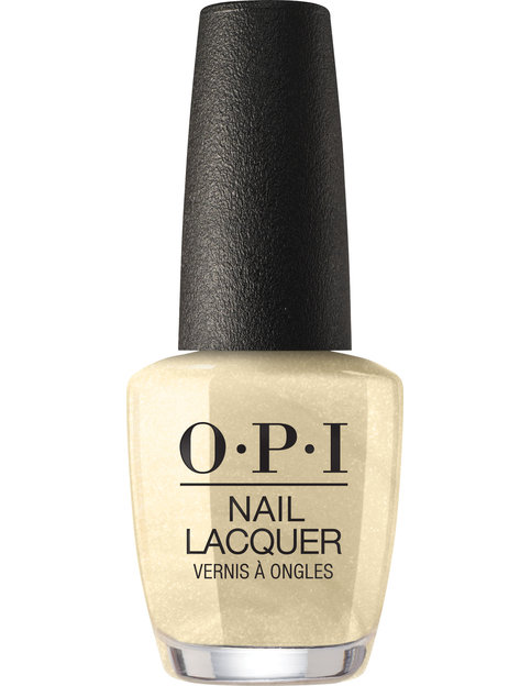 OPI LOVE OPI XOXO nail lacquer bottle Gift of Gold Never Gets Old