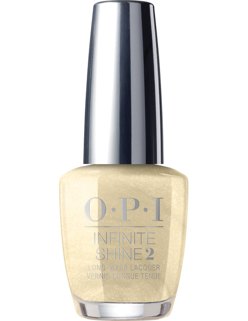 OPI LOVE OPI XOXO Collection Infinite Shine long-wear nail lacquer bottle Gift of Gold Never Gets Old