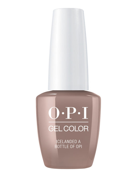 OPI ICeland gelcolor nail polish Icelanded a bottle of OPI