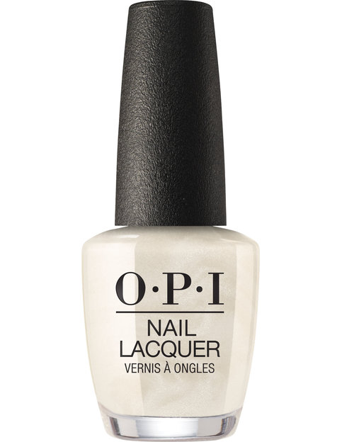 OPI LOVE OPI XOXO nail lacquer bottle Snow Glad I Met You