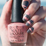 OPI California Dreaming Nail Art Shorelines manicure with Time for Napa nail polish bottle in hand