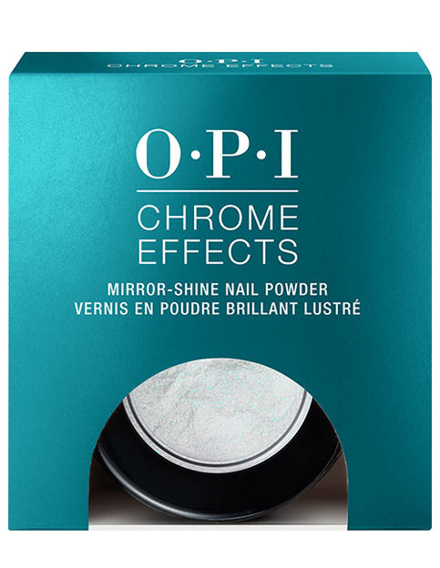 """OPI Chrome Effects powder Blue """"Plate"""" Special in Package"""