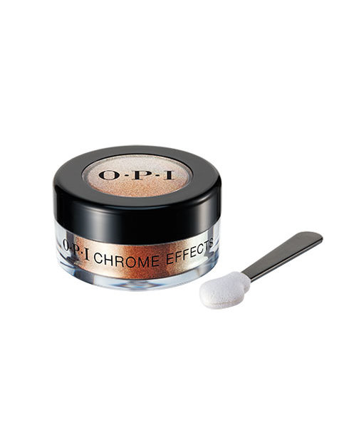 Chrome Effects powder in Great Copper-tunity with applicator
