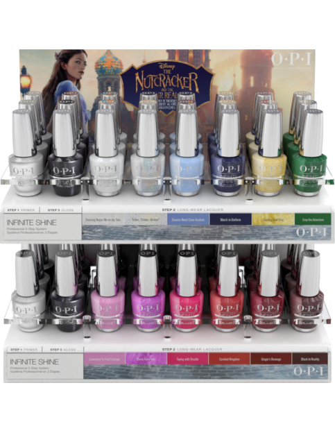 Nutcracker IS 48pc Acrylic Trendsetter Display