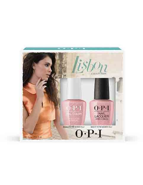 LISBON GEL COLOR & LACQUER DUO #3 - Gift Sets - OPI