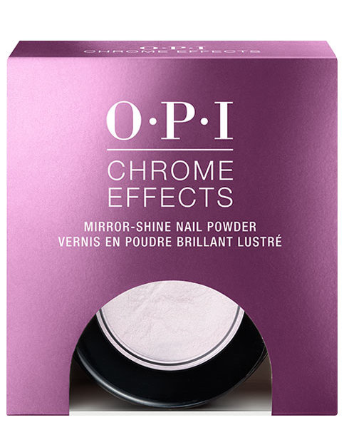 OPI Chrome Effects powder Pay Me in Rubies in package