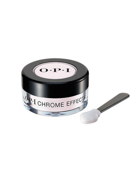 Chrome Effects powder in Pay Me in Rubies with applicator