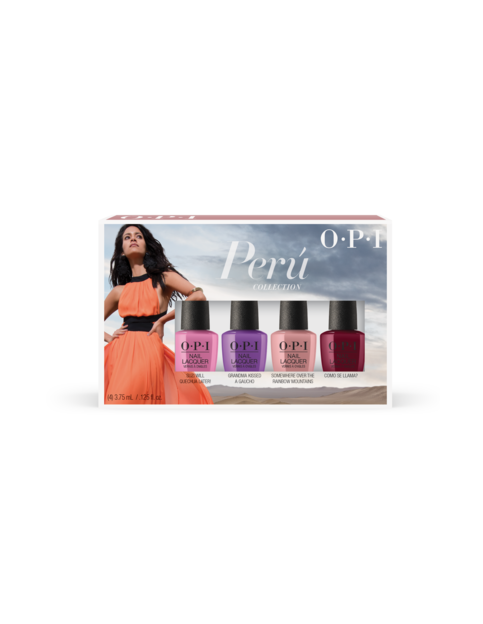 OPI Peru collection mini pack