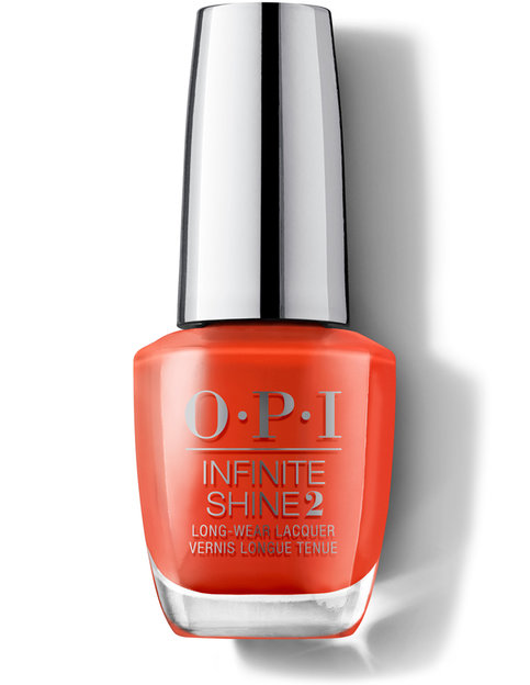 OPI Lisbon Collection Infinite Shine long wear nail polish A Red-vival City
