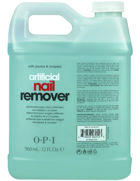 Artificial Nail Remover - Pro Removers - OPI