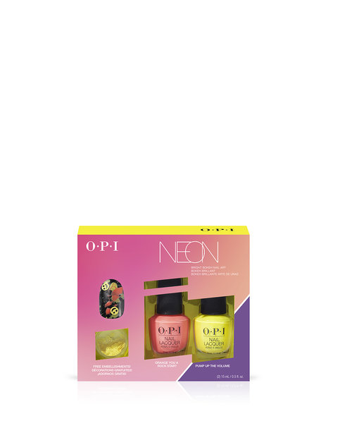 Neons by OPI Nail Lacquer Nail Art Duo Pack #2