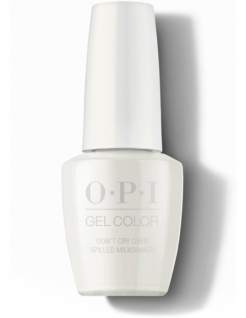 OPI Grease Collection GelColor Don't Cry Over Spilled Milkshakes Nail Polish 15 mL bottle