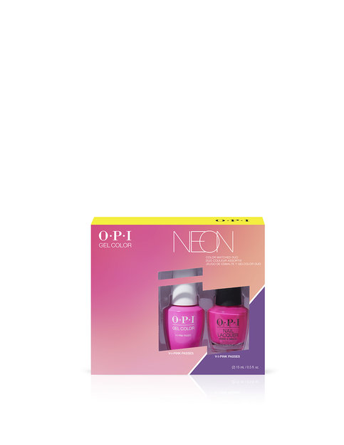 Neons by OPI GelColor & Lacquer Duo Pack #1
