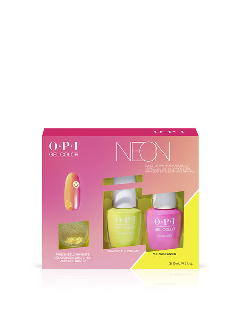 Neons by OPI GelColor Nail Art Duo Pack