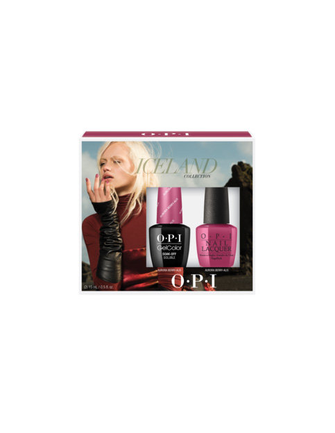 Iceland Gelcolor / Lacquer Duo #1 - Kits - OPI