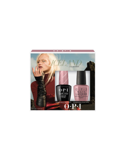 Iceland Collection GelColor Lacquer Duo Pack #2 - Kits - OPI