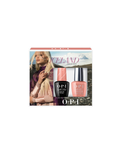Iceland Gelcolor / Infinite Shine Duo #1 - Kits - OPI