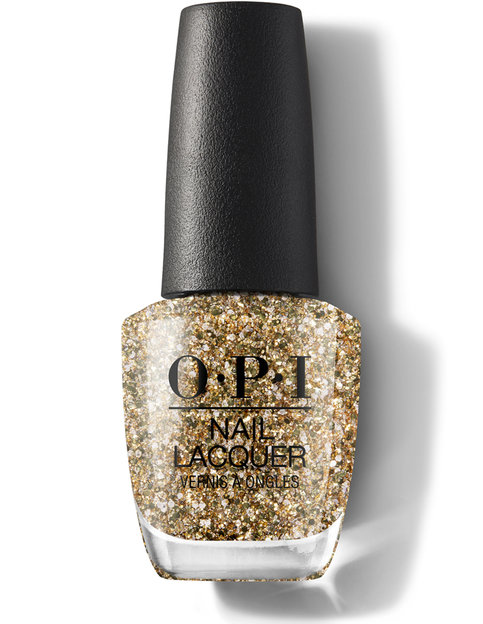 OPI Nail Lacquer Holiday Collection Gold Key to the Kingdom