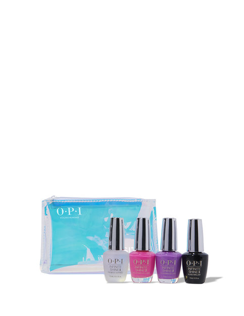 Neons by OPI Summer '19 Infinite Shine 4PC Gift Set (System Kit)