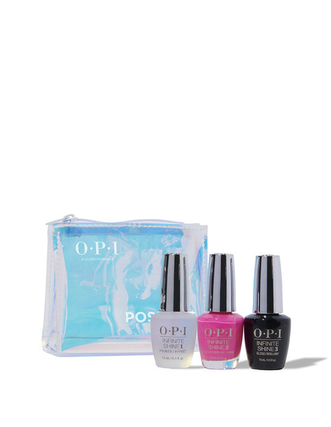 Neons by OPI Summer '19 Infinite Shine 3PC Gift Set (System Kit)