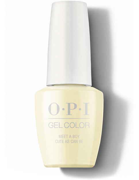 OPI Grease Collection GelColor Meet A Boy Cute As Can Be Nail Polish 15 mL bottle