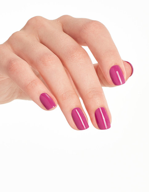 OPI Lisbon Collection No Turning Back From Pink Street hand swatch