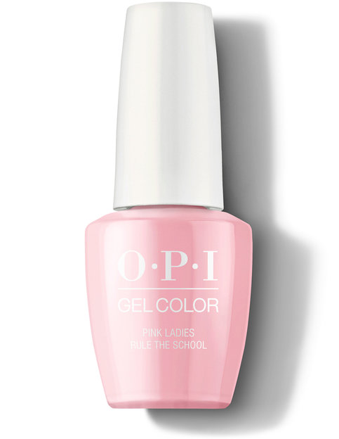 OPI Grease Collection GelColor Pink Ladies Rule the School nail polish 15 mL bottle