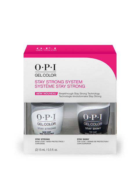 OPI GelColor Stay Strong System Duo Pack