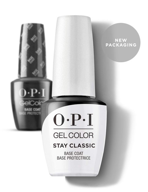 OPI GelColor Stay Classic Base Coat New Packaging