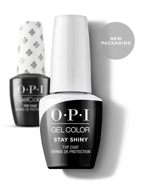 OPI GelColor Stay Shiny Top Coat New Packaging