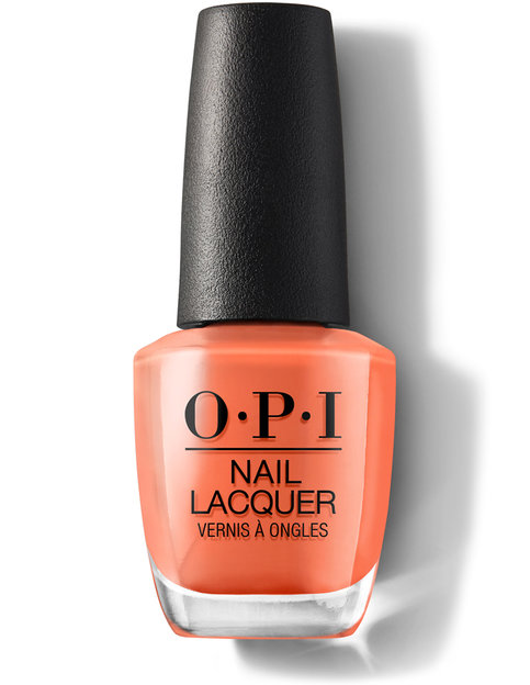 OPI Grease Collection Summer Lovin' Having a Blast! nail polish bottle