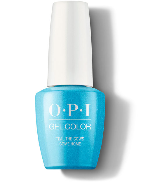 OPI Teal the Cows Come Home