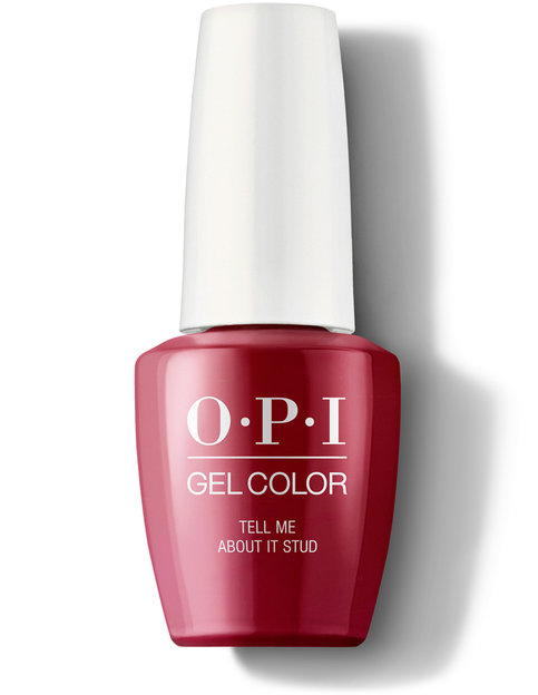 OPI Grease Collection Tell Me About It Stud GelColor Nail Polish 15 mL bottle