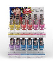 OPI Pop Culture collection acrylic display