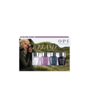 OPI Iceland Collection Infinite Shine mini nail lacquer 4 pack