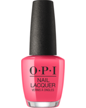 OPI Nail lacquer bottle Feelin' Hot Hot Hot
