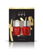 OPI LOVE OPI XOXO GelColor and Infinite Shine nail polish duo pack #1